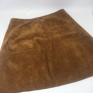 Zara Sz S leather skirt